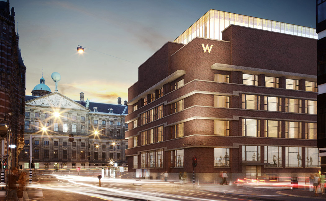 Design in focus w amsterdam gets connected for Hotel to stay amsterdam