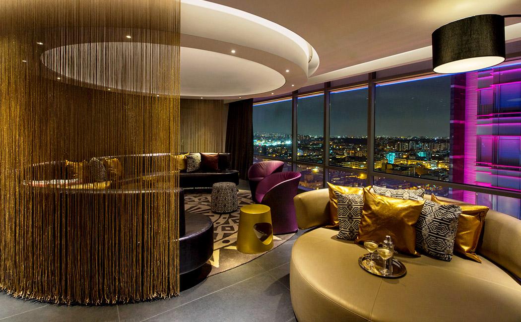 w-hotels-bogota3 & Design In Focus: W Bogota Goes Gold
