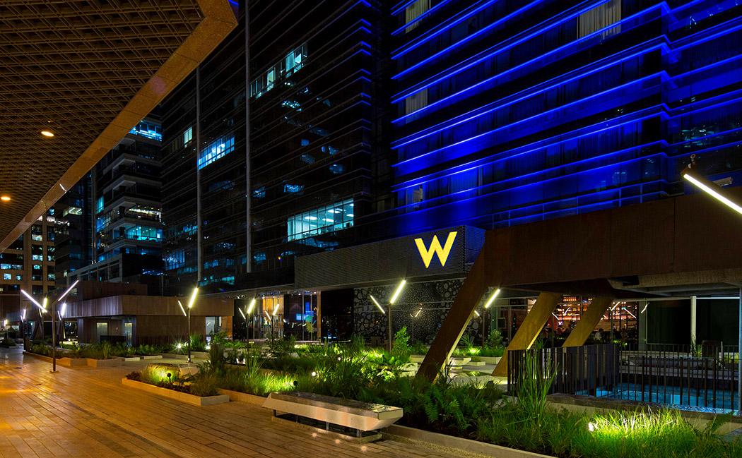 Design in focus w bogota goes gold for Hotel design 100 bogota