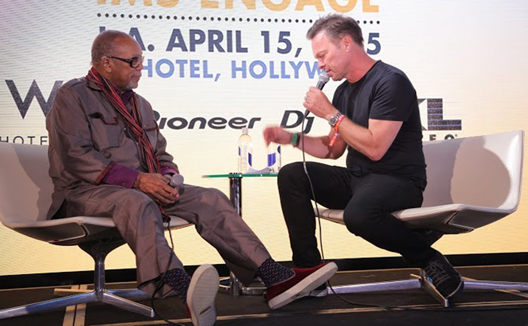 Quincy Jones and Pete Tong
