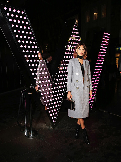 Alexa Chung at W London's Rock The Empire Party