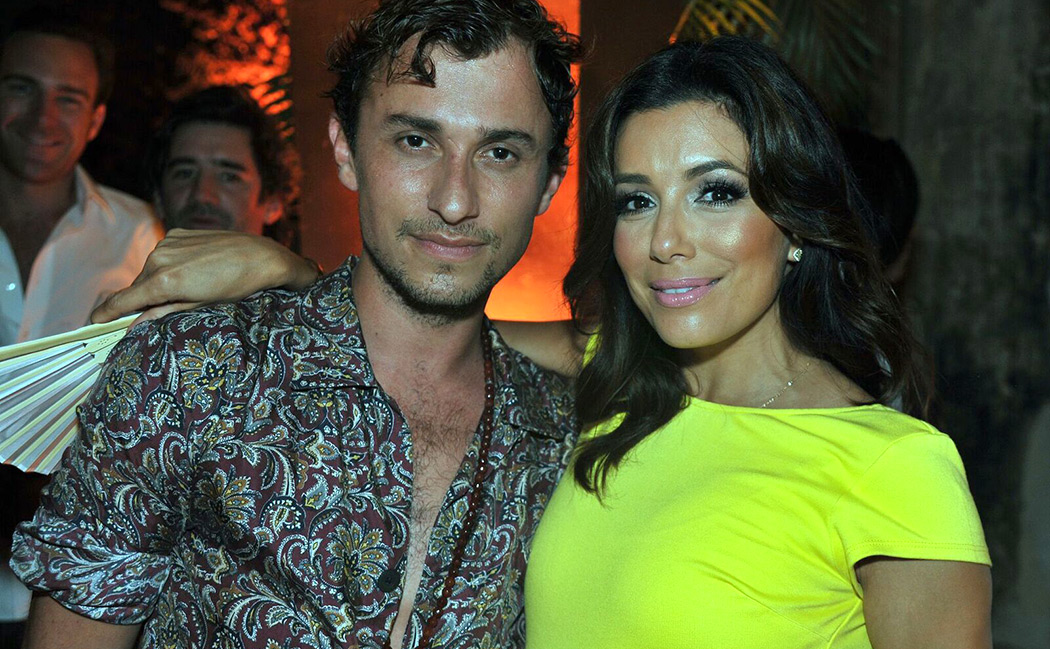 Esteban Cortázar and Eva Longoria