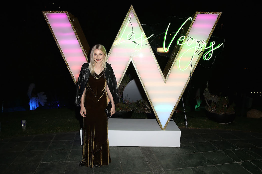 LOS ANGELES, CA - NOVEMBER 02:  Jessica Stam attends the W Las Vegas Preview Event in Los Angeles at W Los Angeles - West Beverly Hills on November 2, 2016 in Los Angeles, California  (Photo by Joe Scarnici/Getty Images for W Las Vegas)