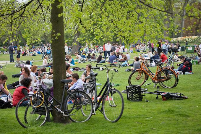 Amsterdam public parks