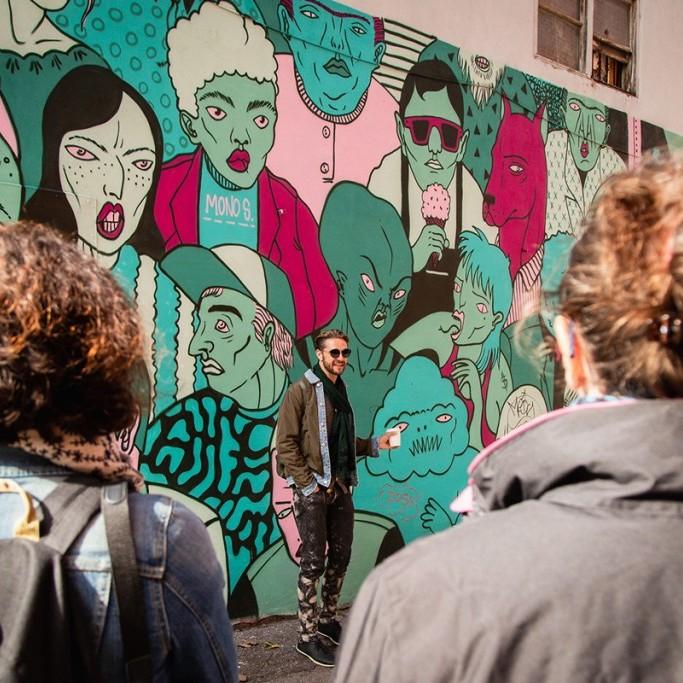 Spade and Palacio Mural Tour