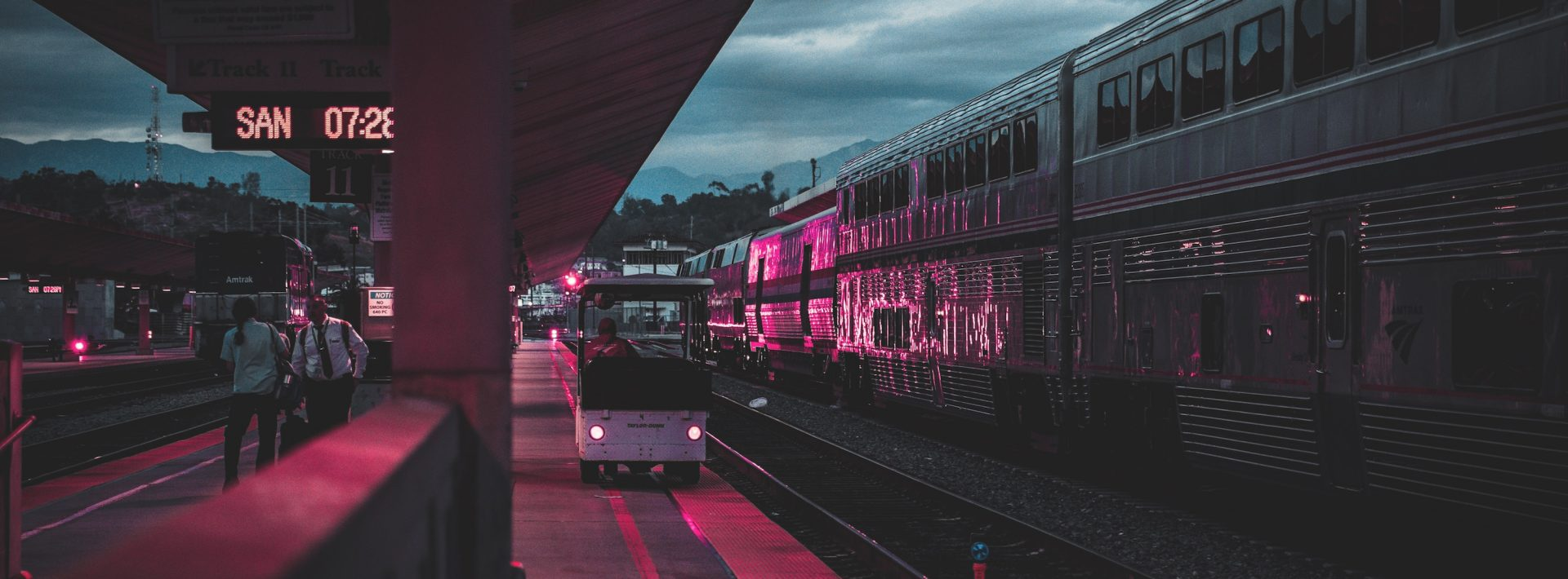 la train station