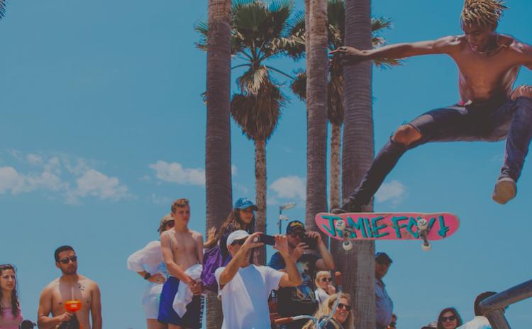 la skateboard