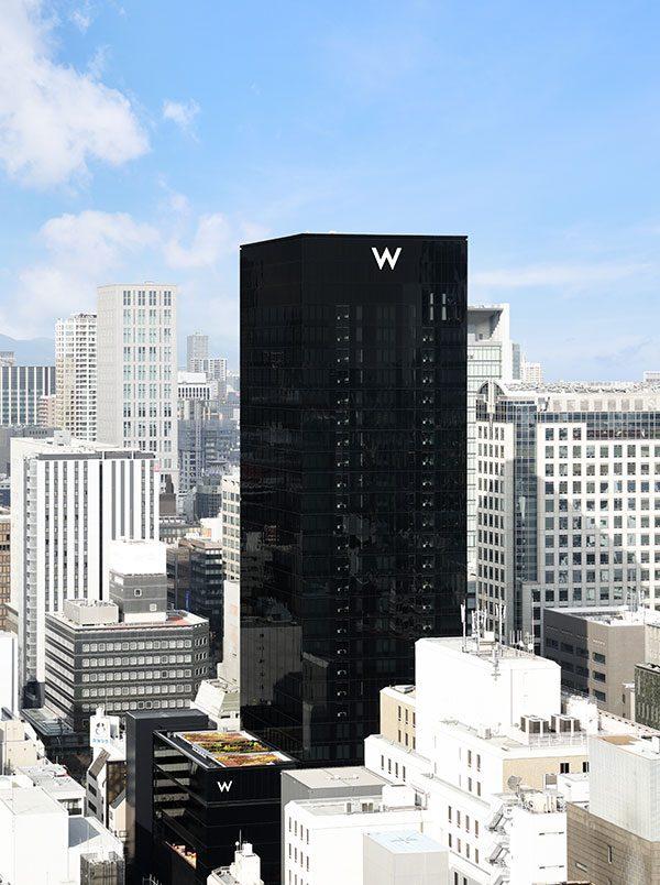 W Osaka Skyline