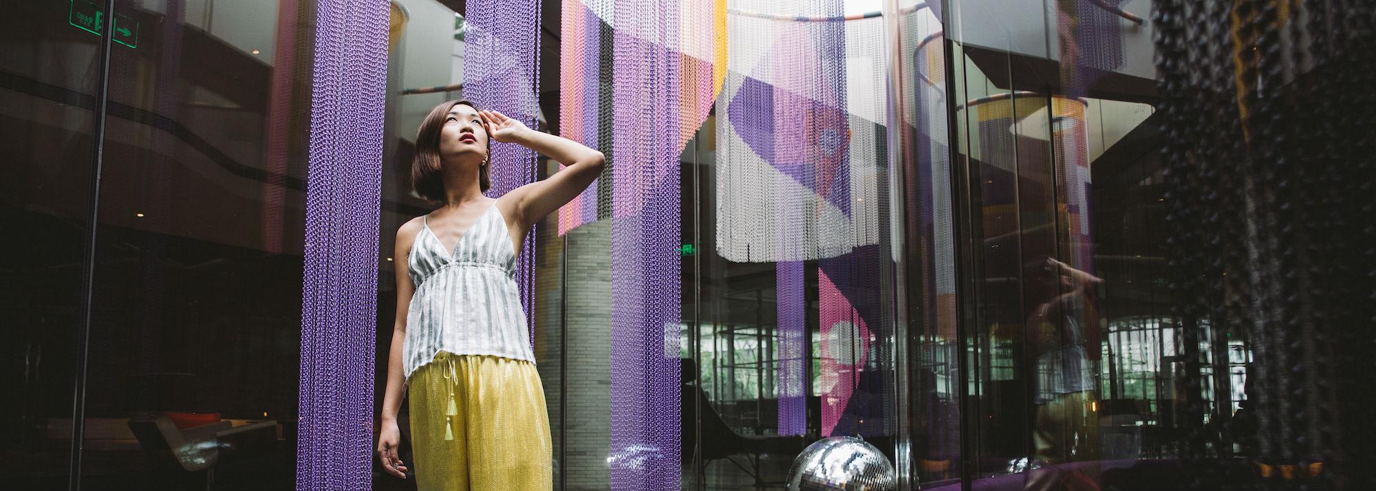 Fashion W Hotels The Angle Life With A W Slant